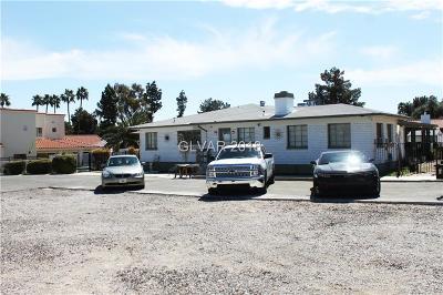 Las Vegas Single Family Home For Sale: 1550 Bracken Avenue