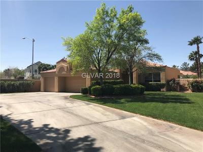 Las Vegas Single Family Home Contingent Offer: 5201 Painted Lakes Way