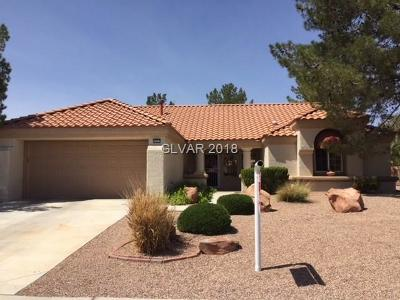 Sun City Summerlin Single Family Home Contingent Offer: 2825 Crown Ridge Drive