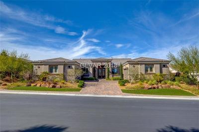 Las Vegas Single Family Home For Sale: 9946 Spider Creek Court