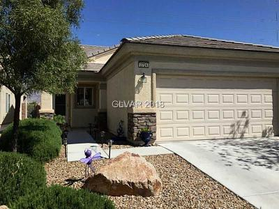 North Las Vegas Single Family Home Contingent Offer: 2724 Ground Robin Drive