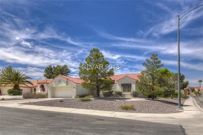 Sun City Summerlin Single Family Home Contingent Offer: 2829 Greenview Court