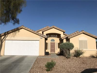 North Las Vegas Single Family Home For Sale: 4804 Crystal Sword Street