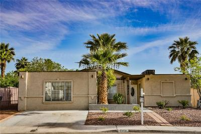 Las Vegas NV Single Family Home Under Contract - No Show: $199,900
