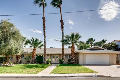 Las Vegas Single Family Home For Sale: 1965 Ottawa Drive