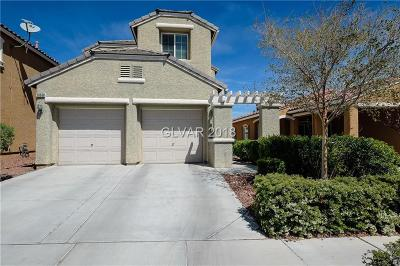 Las Vegas Single Family Home For Sale: 10668 April Rose Court