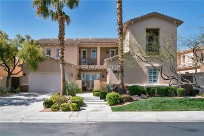Red Rock, Red Rock Cntry Club At Summerl Single Family Home For Sale: 2579 Red Springs Drive