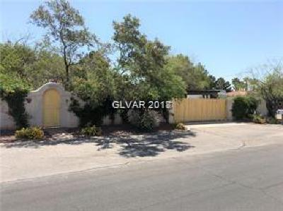 Las Vegas Single Family Home For Sale: 5311 Manuel Drive