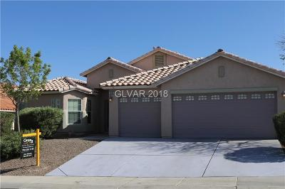 North Las Vegas Single Family Home Contingent Offer: 3505 Ashby Field Avenue