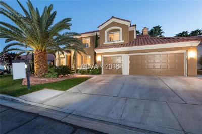 Las Vegas Single Family Home For Sale: 9421 Steeplehill Drive