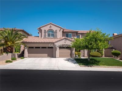 Las Vegas Single Family Home For Sale: 11404 Rancho Villa Verde Place