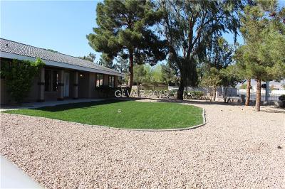 Clark County Single Family Home For Sale: 7590 North Jones Boulevard