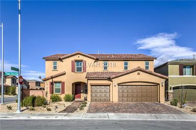 Las Vegas NV Single Family Home For Sale: $544,900