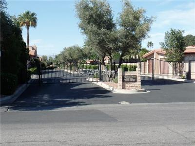 Las Vegas NV Condo/Townhouse For Sale: $265,000