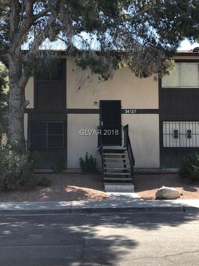 North Las Vegas Condo/Townhouse Contingent Offer: 3412 Mercury Street #I