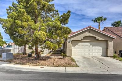 Clark County Single Family Home Contingent Offer: 2308 Glassport Circle