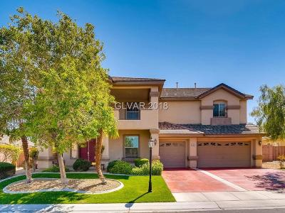Las Vegas Single Family Home For Sale: 8971 Tierra Santa Avenue