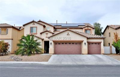 North Las Vegas Single Family Home For Sale: 6215 Darby Creek Court