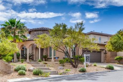 Las Vegas Single Family Home For Sale: 12251 La Prada Place