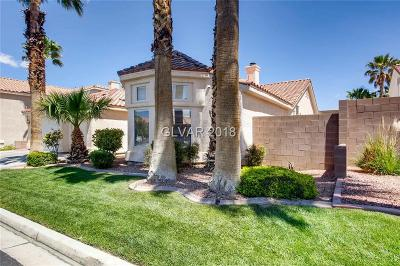 Las Vegas Single Family Home For Sale: 5638 Wild Olive Street
