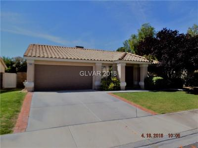 Henderson Single Family Home For Sale: 1405 Pathfinder Road