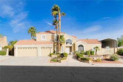 Boulder City Single Family Home Contingent Offer: 1583 Bermuda Dunes Drive