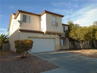 North Las Vegas Single Family Home For Sale: 1602 Hammer Lane