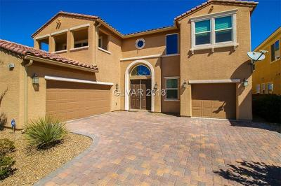 Las Vegas Single Family Home Contingent Offer: 4124 Hawks Glide Avenue
