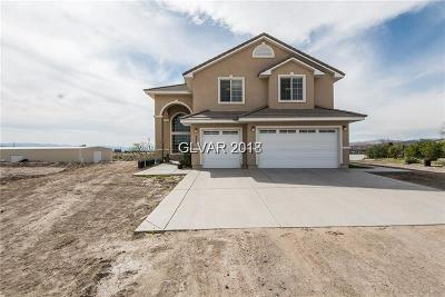 Overton NV Single Family Home For Sale: $599,888
