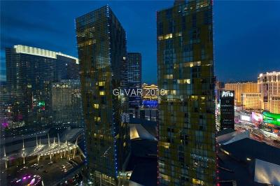 Clark County High Rise For Sale: 3722 South Las Vegas Boulevard #911