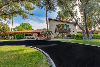 Las Vegas Single Family Home For Sale: 2315 Alta Drive