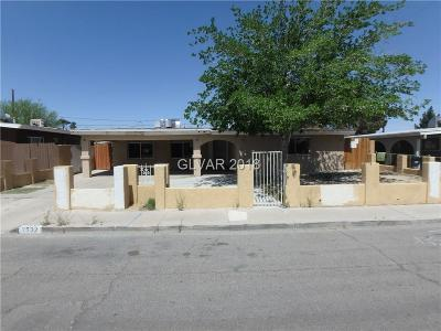 North Las Vegas Single Family Home For Sale: 2532 Taylor Avenue
