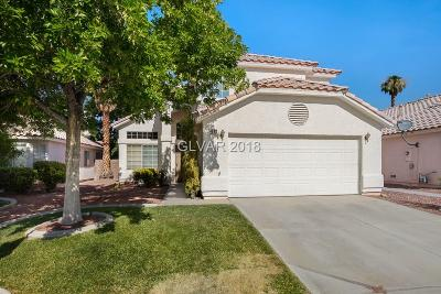 Las Vegas Single Family Home For Sale: 4509 Savin Circle