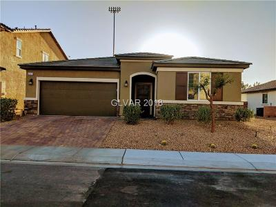 North Las Vegas Single Family Home For Sale: 4017 Elegant Alley Court