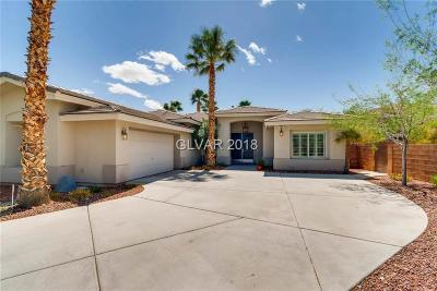 Las Vegas NV Single Family Home For Sale: $700,000