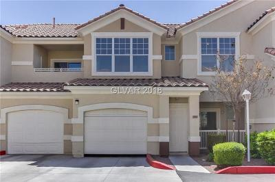 North Las Vegas NV Condo/Townhouse For Sale: $163,000