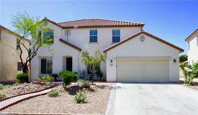 North Las Vegas Single Family Home For Sale: 1105 Dawn Valley Drive