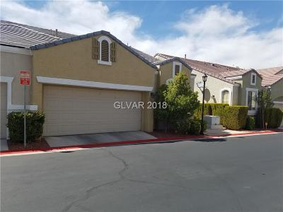 Las Vegas Condo/Townhouse For Sale: 1025 Collingtree Street