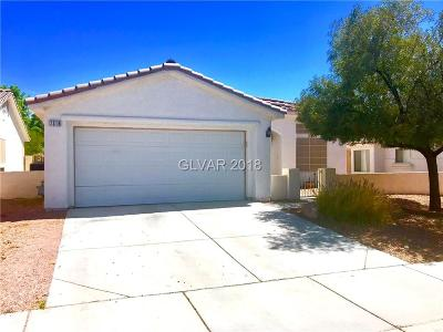 Las Vegas Single Family Home For Sale: 7316 Wandering Street