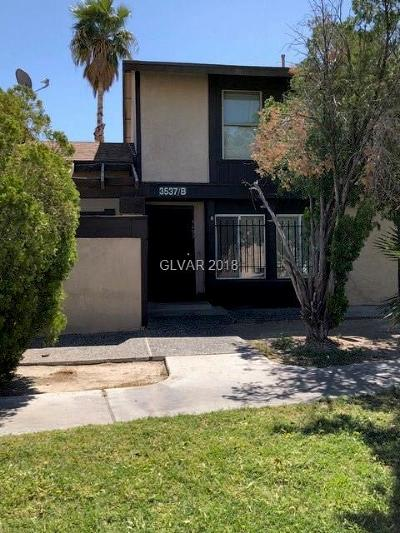 North Las Vegas Condo/Townhouse Contingent Offer: 3537 Mercury Street #B