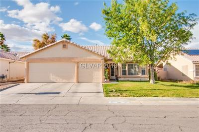 North Las Vegas Single Family Home For Sale: 518 Rancho Del Mar Way