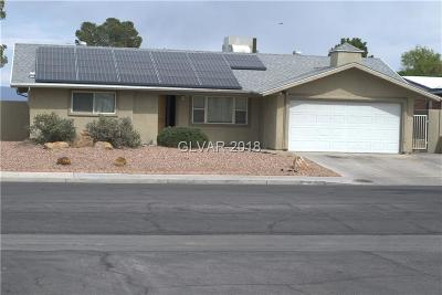 Las Vegas Single Family Home Under Contract - No Show: 413 Redstone Street