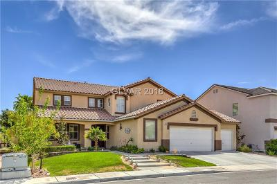 Las Vegas Single Family Home For Sale: 5897 Shining Moon Court