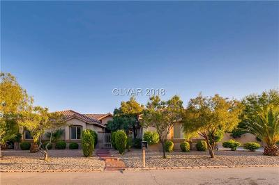 Las Vegas Single Family Home For Sale: 4310 Conough Lane