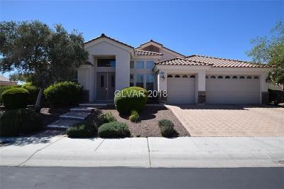 Las Vegas Single Family Home For Sale: 6455 Moss Agate Drive