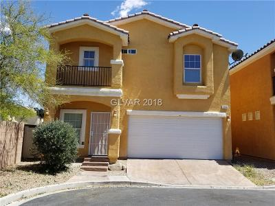 Las Vegas Single Family Home For Sale: 2196 Trebbiano Way