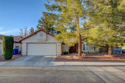 Las Vegas Single Family Home For Sale: 6404 Chippindale Lane