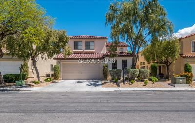 Las Vegas Single Family Home For Sale: 5570 Coral Gate Street