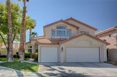 Las Vegas Single Family Home Contingent Offer: 5445 Big Sky Lane