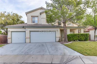 Henderson NV Single Family Home Under Contract - No Show: $423,000